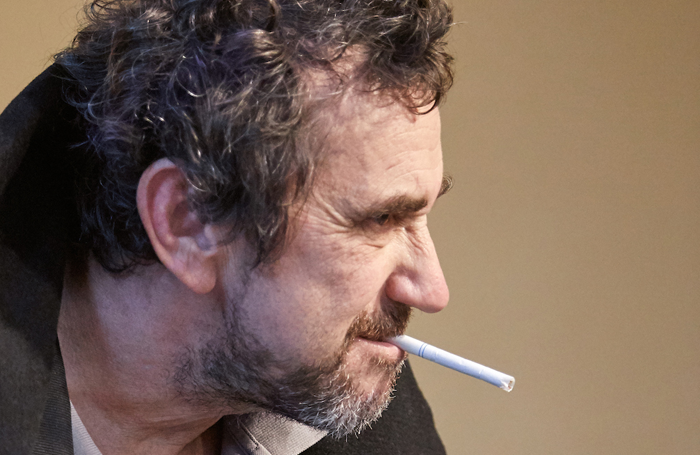 Phil Daniels in rehearsals for Dr Jekyll and Mr Hyde. Photo: Mark Douet