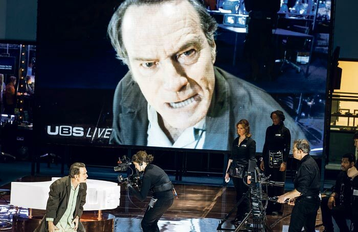 "Bryan Cranston in Network: what aspects of the theatre world make our panellists ""mad as hell""? Photo: Jan versweyveld"
