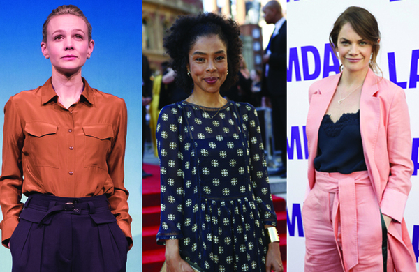 Theatre stars among actresses to sign Time's Up letter demanding change in British entertainment