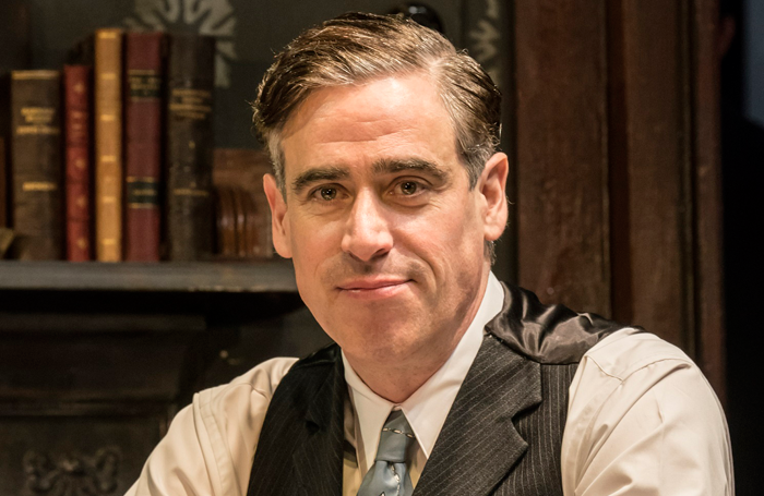Stephen Mangan in The Birthday Party. Photo: Johan Persson