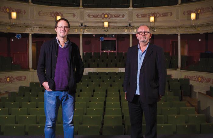 Tom Piper and Michael Boyd. Photo: Jon Rowley