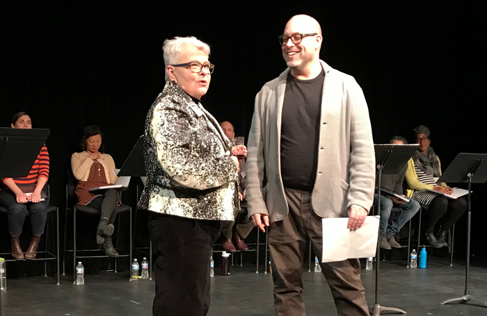 Playwrights Paula Vogel and Jeremy B Cohen. Photo: Whitney Rowland.jpg