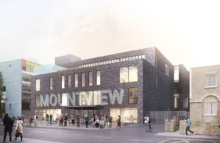 An artists impression of the new Peckham Mountview site