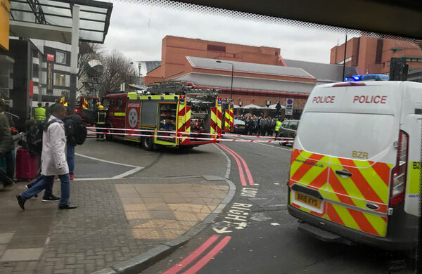London's Shaw Theatre damaged in blaze tackled by 35 firefighters
