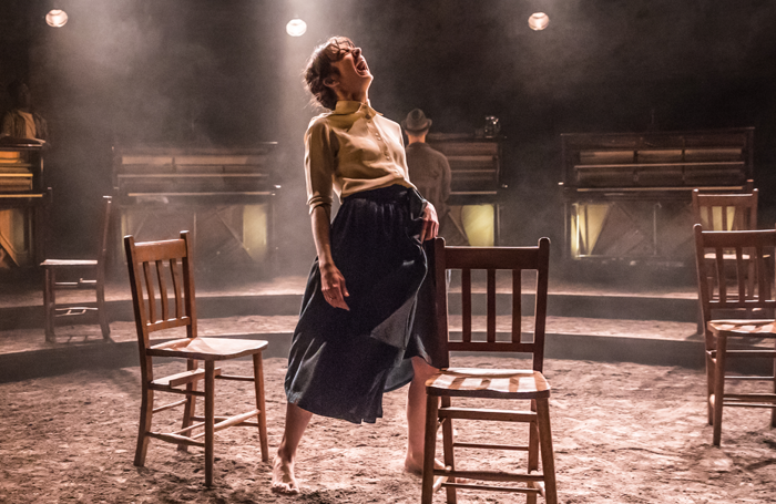 Patsy Ferran in Summer and Smoke at the Almeida. Photo: Marc Brenner