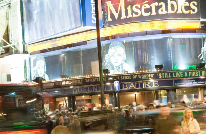 The Queen's Theatre is home to Les Miserables. Photo: SOLT