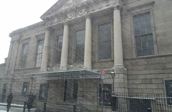 Adverse weather conditions lead to theatre cancellations across the UK and Ireland