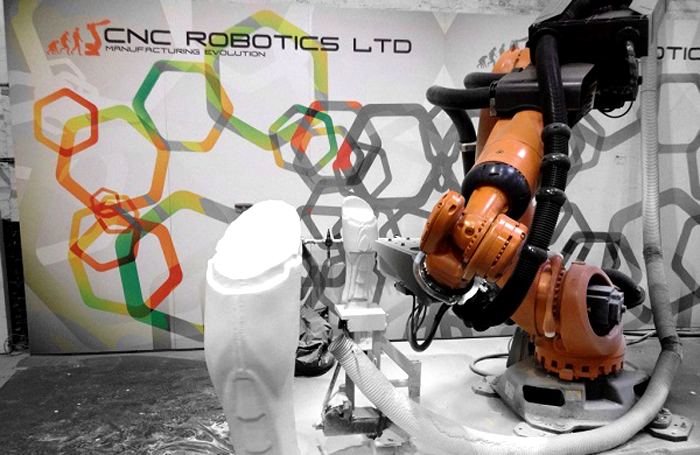 The CNC Robotics system is used as a pivotal part in the design of props in the film, TV and entertainment sector