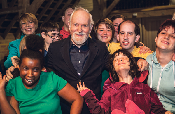 Songwriter and lyricist Richard Stilgoe: 'If I'm struggling to write a verse, I'll hop on my JCB'