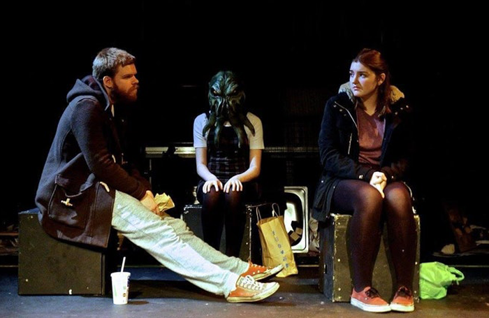 A scene from the Nottingham New Theatre production of Pomona at this year's National Student Drama Festival