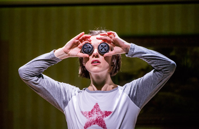 Mary Bevan  in Coraline at Barbican Theatre, London. Photo: Tristram Kenton