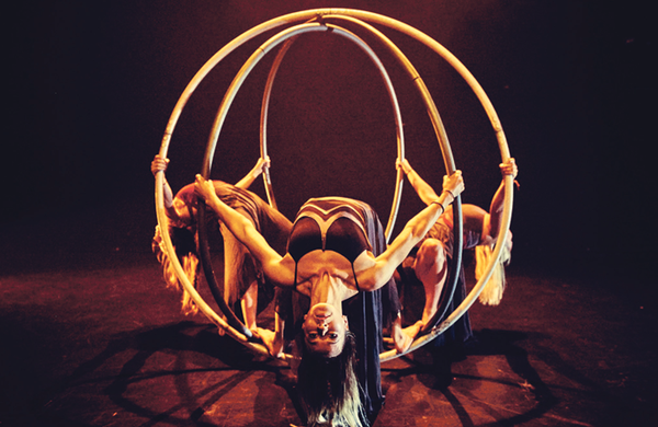 Women in circus: 'It's about sisterhood and about pushing your female wildness'