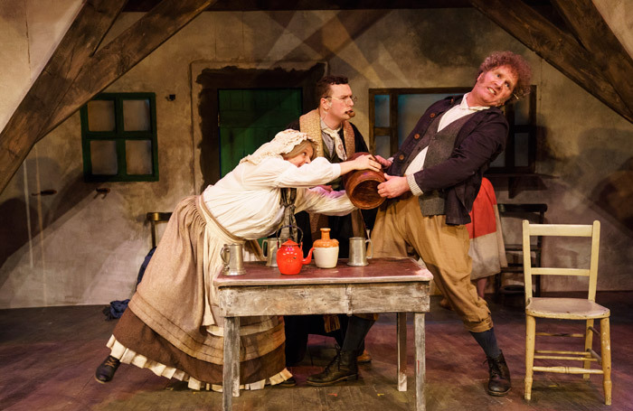 Bruiser Theatre's production of The Colleen Bawn at the Lyric Theatre, Belfast; cuts may see the company shut down. Photo: Steffan Hill