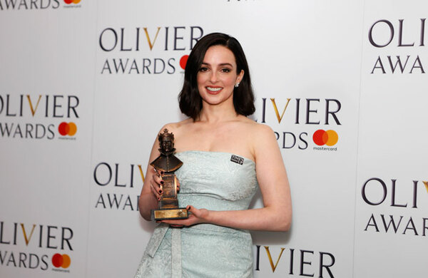 Olivier Awards 2018: Stars unite to say 'Time's Up on harassment'
