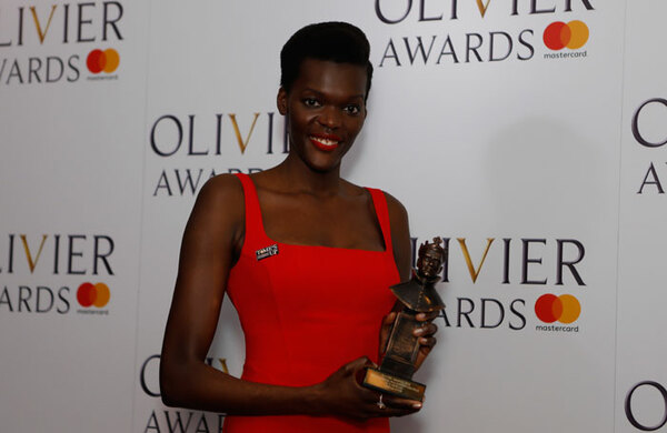 Olivier Awards 2018: Don't become complacent over diversity, warns winner Sheila Atim