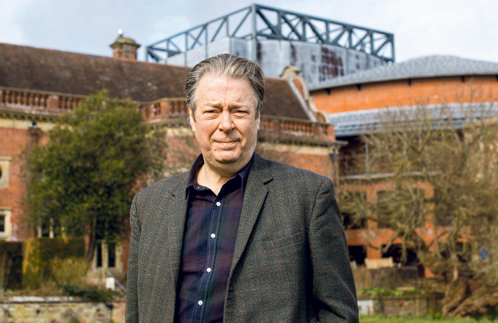 Roger Allam at Glyndebourne. Photo: Piers Foley