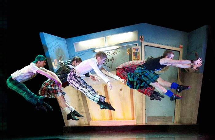 Scottish Ballet's production of Matthew Bourne's  Highland Fling at Theatre Royal, Glasgow. Photo: Andy Ross