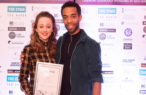 Guildford School of Acting student wins 2018 Alan Bates award