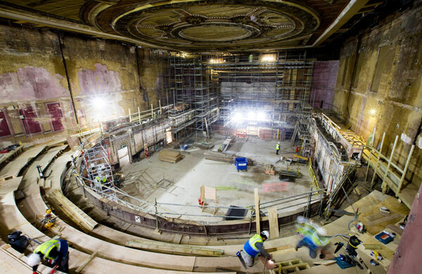Alexandra Palace theatre to reopen in December after 80 years