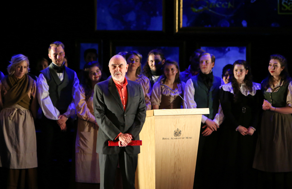 Les Miserables composer receives honorary membership of Royal Academy of Music
