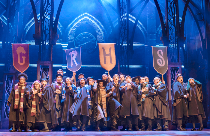 Harry Potter and the Cursed Child at New York's Lyric Theatre. Photo: Manuel Harlan