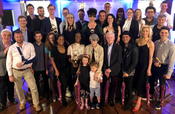 Ashley Day, Harriet Thorpe and The Book of Mormon win at Golden Bucket Awards