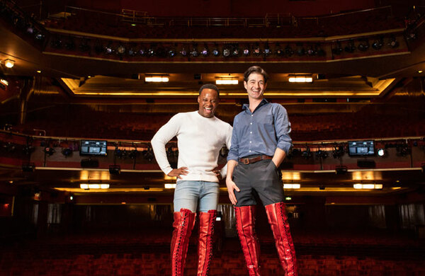Oliver Tompsett joins the West End cast of Kinky Boots