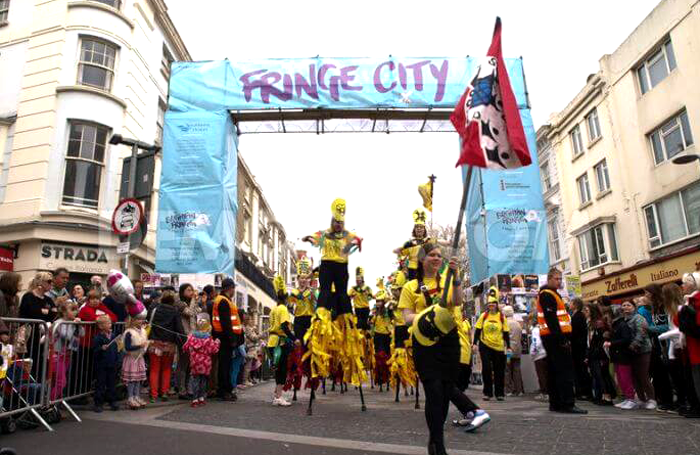 The government announcement does afford some hope for Brighton Fringe, says Jordan