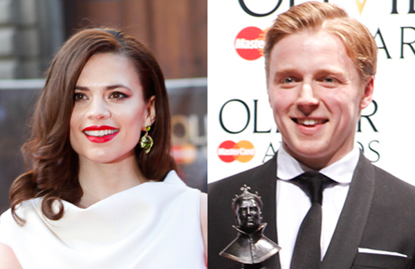 Hayley Atwell and Jack Lowden to swap roles in Donmar Warehouse Measure for Measure