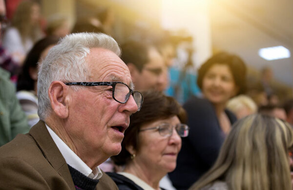 Arts engagement on the rise among older people - government report