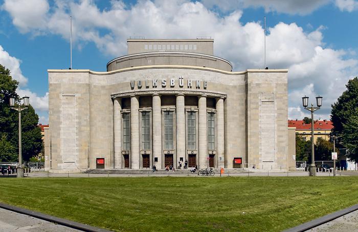 The Volksbuhne on Rosa-Luxemburg-Platz. Photo: David Balzer
