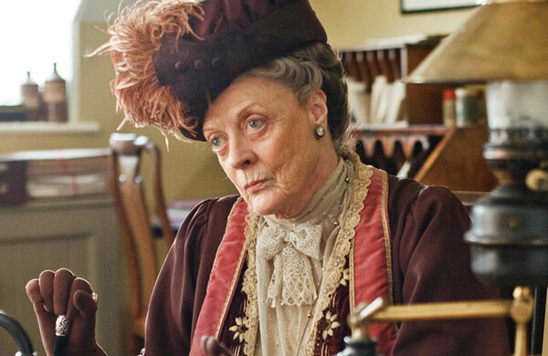 Diary: No dame comment from Maggie Smith