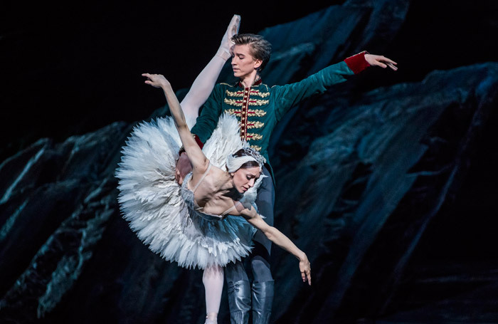 Vadim Muntagirov and Marianela Nunez in Swan Lake at the Royal Opera House, London. Photo: Tristram Kenton