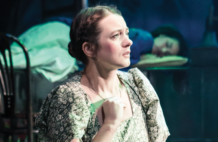 Sophie Stone in A Midsummer Night's Dream at The Watermill. Photo: Scott Rylander