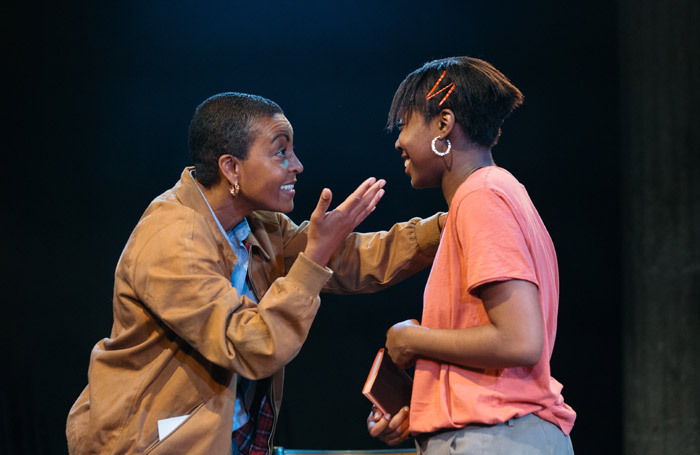 Adjoa Andoh and Seraphina Beh in Leave Taking at Bush Theatre, London. Photo: Helen Murray