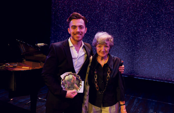 Arts Ed student Alex Cardall wins Sondheim performer of the year award