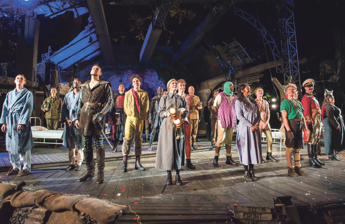 Curtain call for Peter Pan at Regent's Park Open Air Theatre, London, running until June 15. Photo: David Jensen