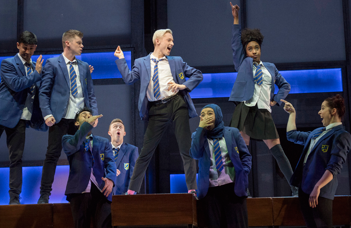 The cast of Everybody's Talking About Jamie. Photo: Alastair Muir