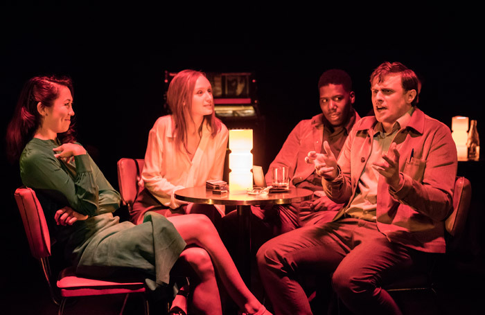 The cast of Machinal at Almeida Theatre, London. Photo: Johan Persson