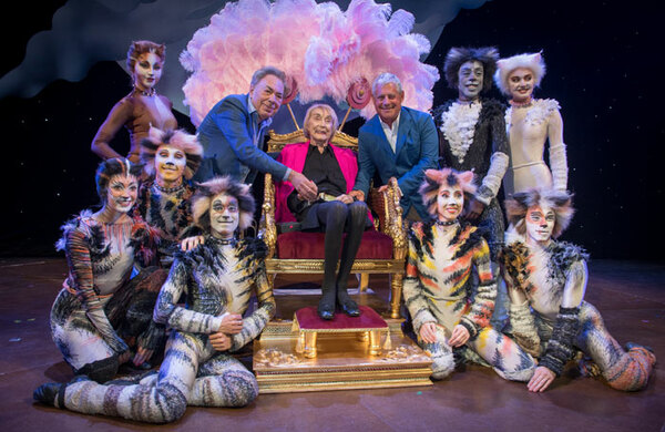 Diary: Gillian Lynne opening is the Cats whiskers