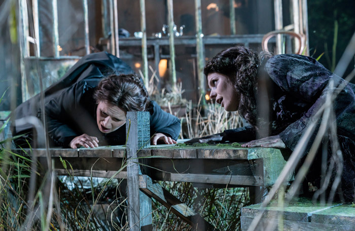 Anita Watson and Elin Pritchard in The Turn of the Screw at Regent's Park Open Air Theatre. Photo: Johan Persson