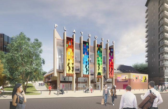 Artist's impression of what the Leeds Playhouse will look like. Photo: Page Park