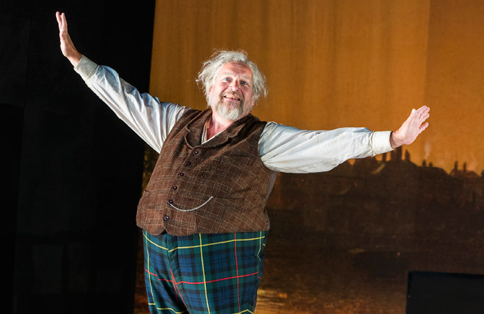 Henry Waddington in Falstaff at Garsington Opera. Photo: Tristram Kenton