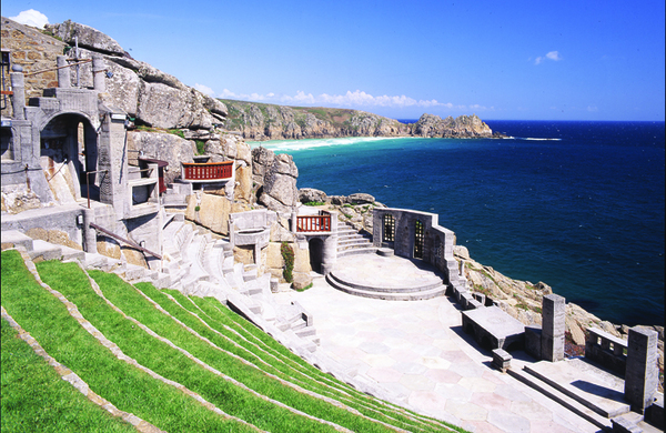 The unlikely pair who built the Minack Theatre return to its stage