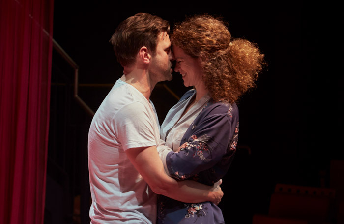 Paul Albertson and Rachel Sanders in The Little Pony at Cervantes Theatre, London. Photo: Elena Molina