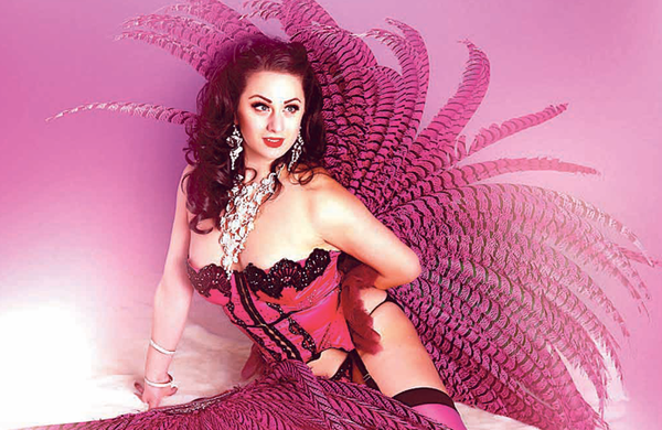 Burlesque performer Tempest Rose: 'I had to learn how to entertain people sitting around me with just my personality'