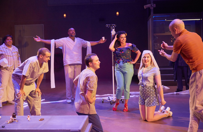 A scene from One Flew Over the Cuckoo's Nest. Photo: Mark Douet
