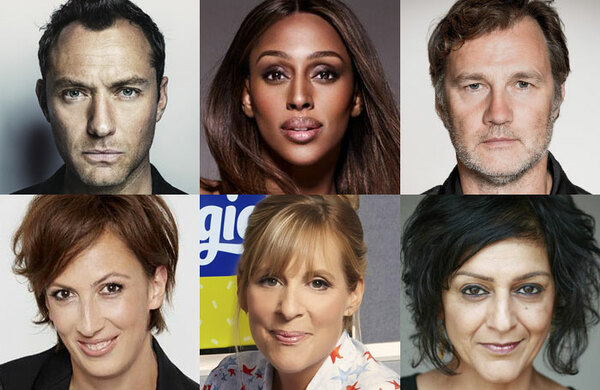 Jude Law and Alexandra Burke among all-star ambassadors pledging to champion British theatre