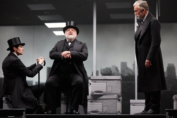 The Lehman Trilogy at the National Theatre – review round-up