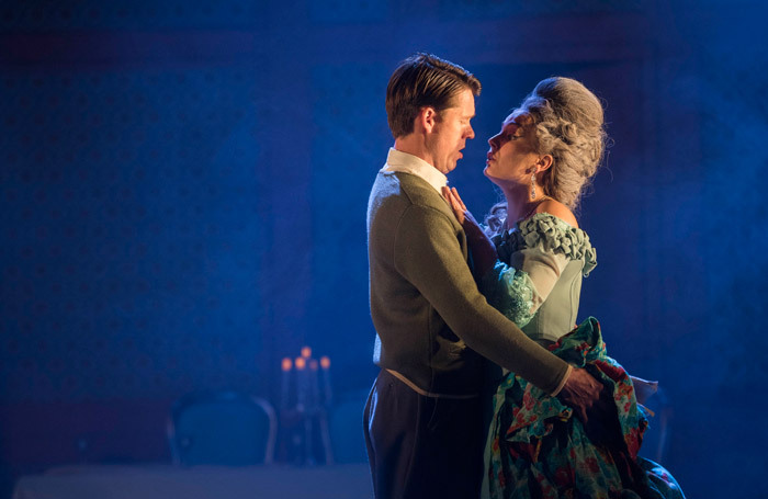 Anna Patalong and Peter Gijsbertsen in La Traviata. Photo: Matthew Williams